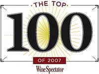 WINE SPECTATOR MAGAZIN TOP 100-AS LISTÁJA
