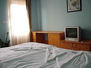Vendégház, szoba belső